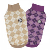 Argyle Meow Turtleneck Sweater