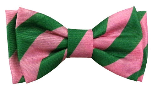 Bow Tie - Pink/Lime - Bruce