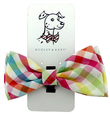 Bow Tie - Yellow/Orange - Check