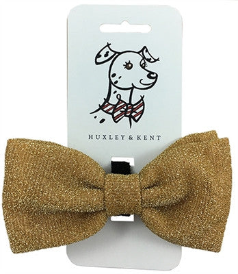 Bow Tie - Glitter Gold