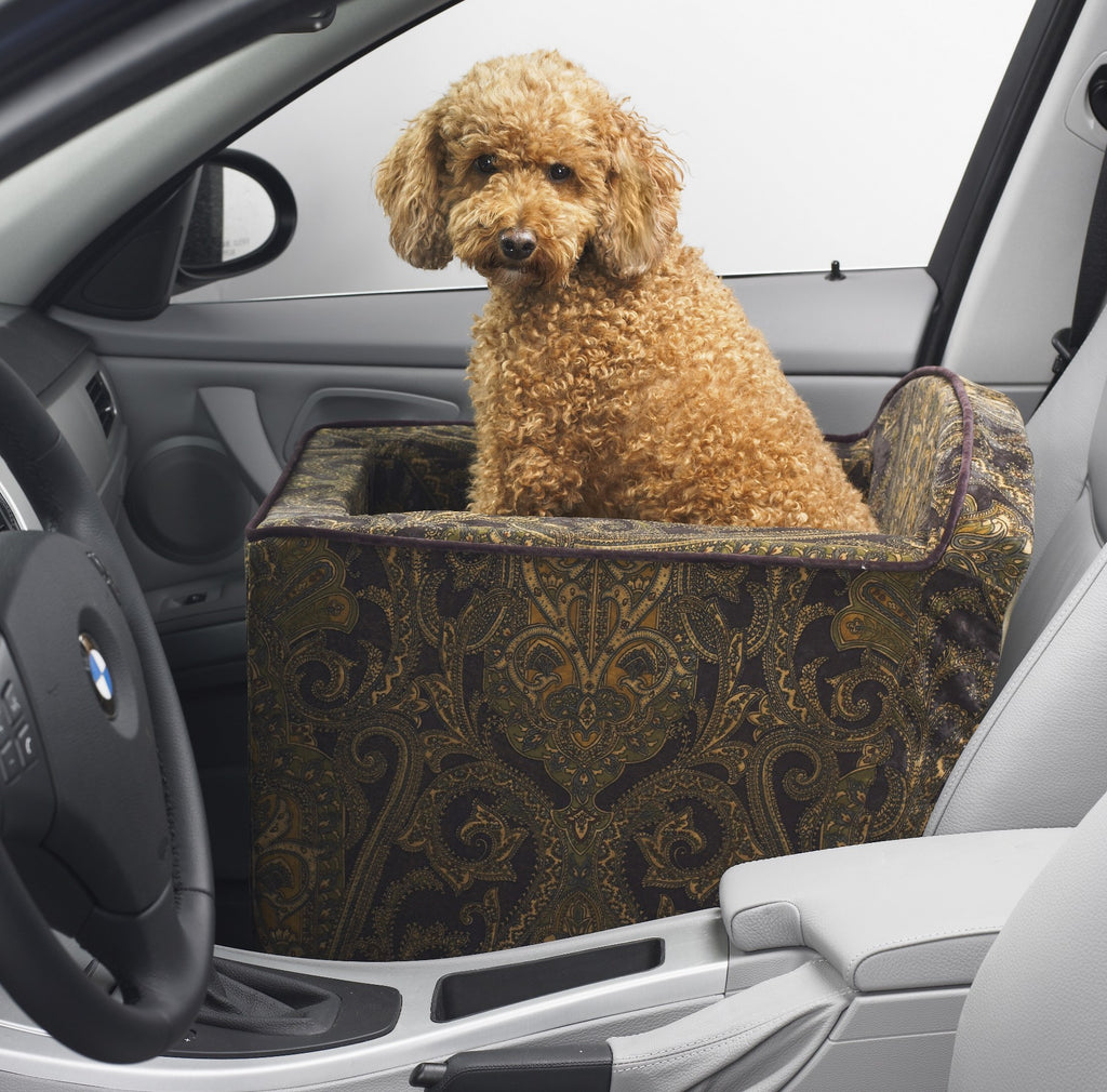 Sky Dog Car Seat - Taupe
