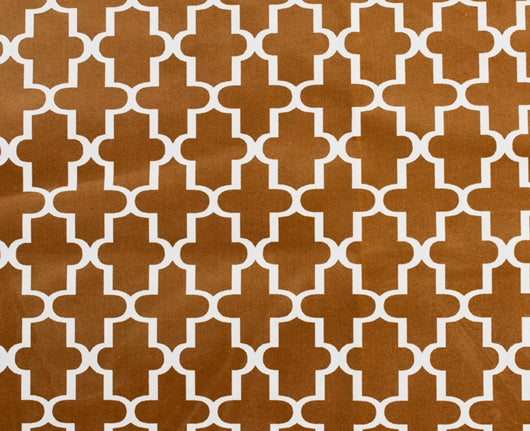 Microvelvet - CEDAR LATTICE (Brown)