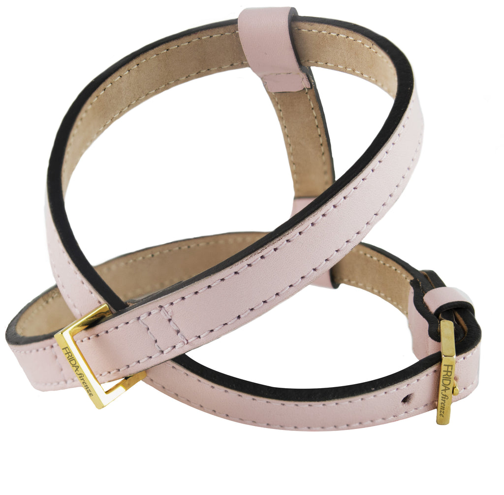 Frida - Leather Harness - Light Pink