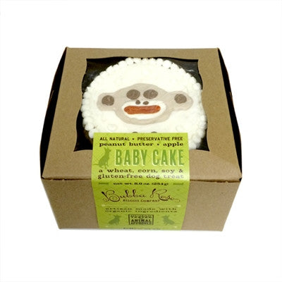 """Baby"" Toy White Monkey Birthday Cake"