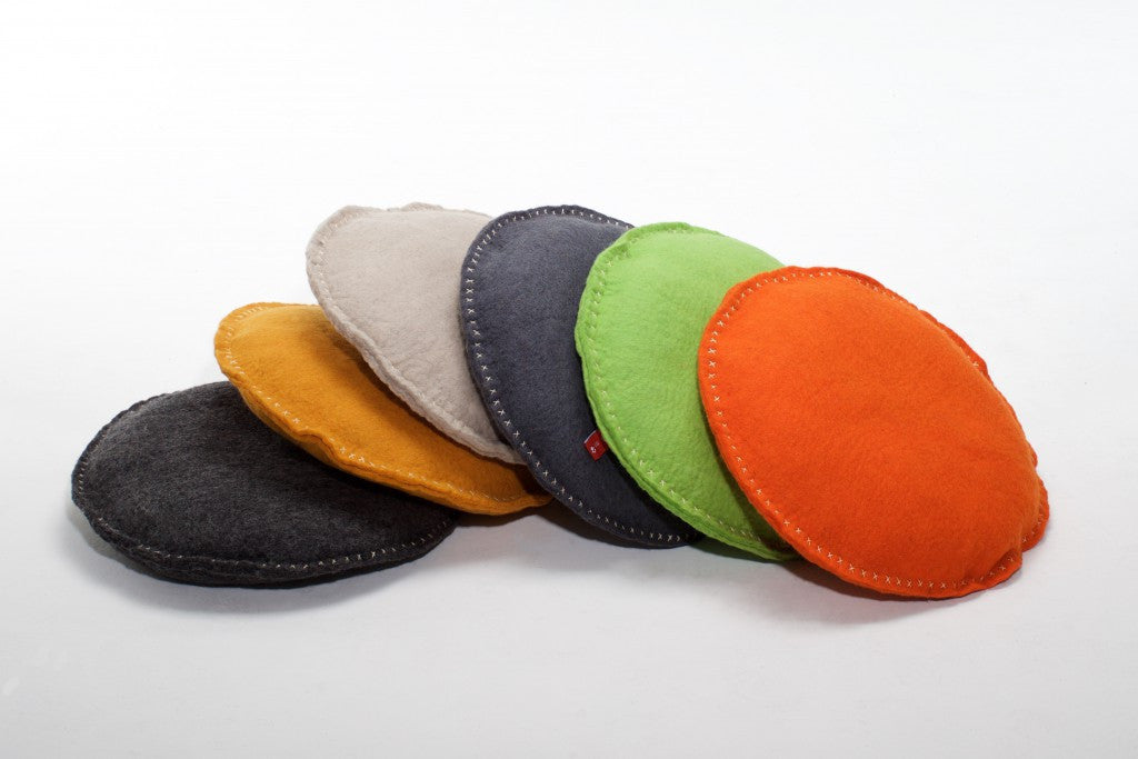 Circo Cushions - durable, organic, hand made from quality felt