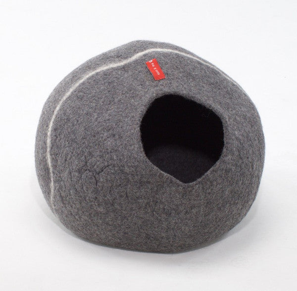 100% Wool Cave - Grey (darker)