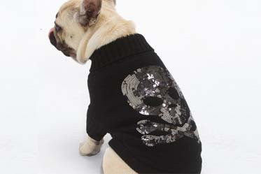 Sequence Skull Sweater - Black