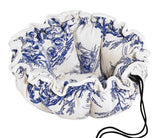 The Pouch - Toile Wedgwood