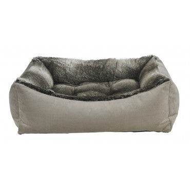 Faux Fur - CHINCHILLA FAUX FUR (Brown)