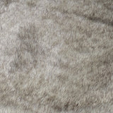 Felpa faux fur - Grey/Black