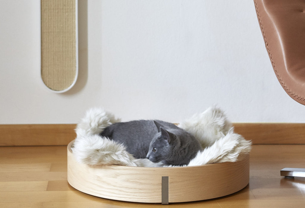 Cat Scratch Pad - Zolto - Silver & Grey