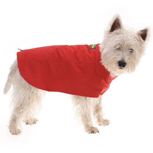 Hamish Rain Coat - Red