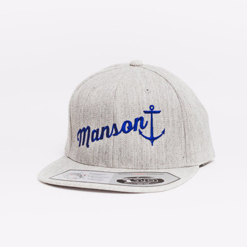Drift Team Heather Grey Classic F110 Snapback
