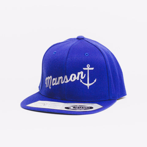 Drift Team Blue White Premium Snapback