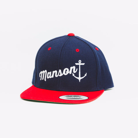Baseball Blue Red White F110 Snapback