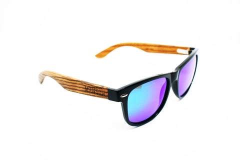 Life In Pink Polarized Bamboo Sunglasses