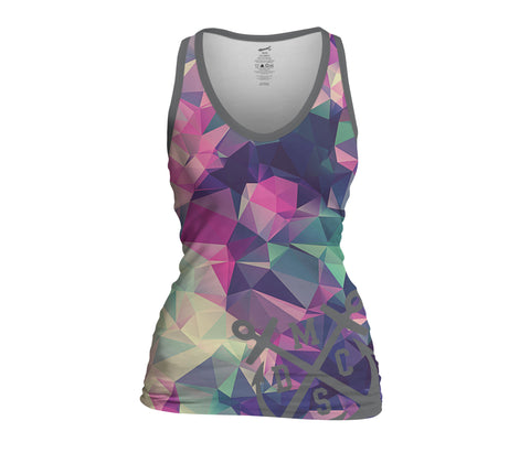 Pink Diamond Ladies Sublimated Tank Top
