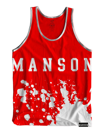 Manson Sublimate Life Guard Tank Top
