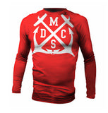 Team Official Red Anchor Jiu Jitsu MMA Surf Rash Guard
