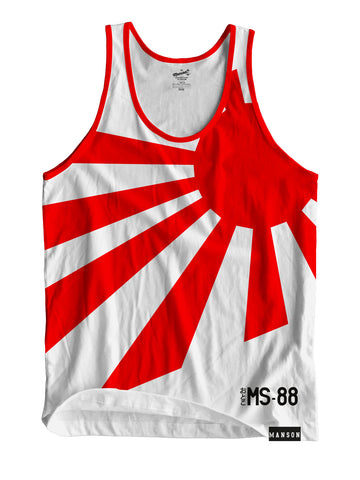 Japanese Rising Sun sublimated Tank top