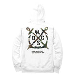 Team Official Camouflage White Sublimate Drift War Hoodie