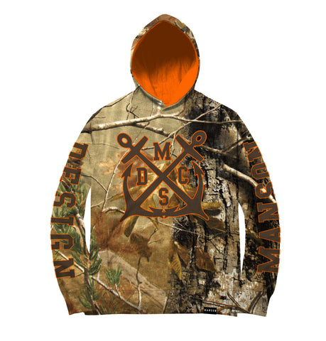 Team Official Woodblend Camouflage Hoodie