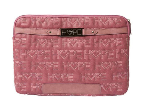 Pink Quilt Hope Laptop Sleeve