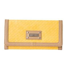 Yellow and Tan Wallet