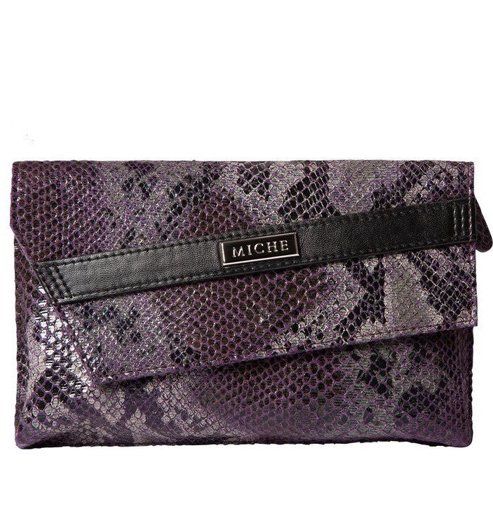 Purple Snake Clutch