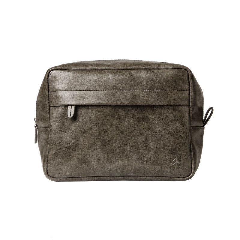 Men's Grey Dopp Kit