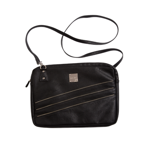 Black Zipper Laptop Case