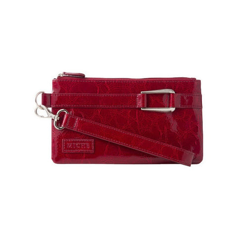 Red Patent Wristlet/Wallet