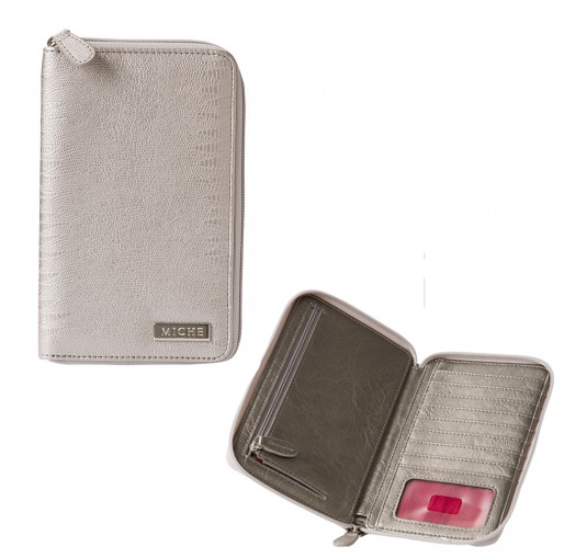 Metallic Silver Wallet