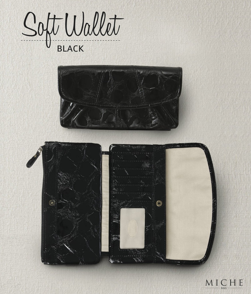 Black Soft Wallet