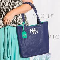 Navy Power Tote