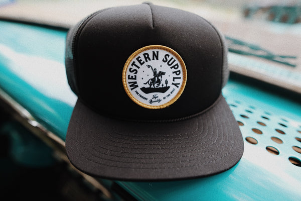 Western Supply Hat - Black