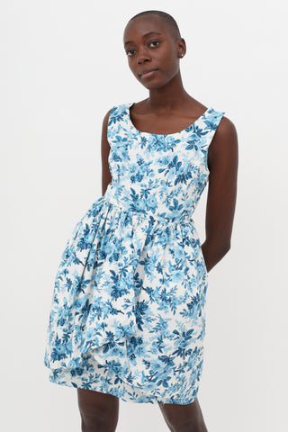 Balenciaga Floral Dress