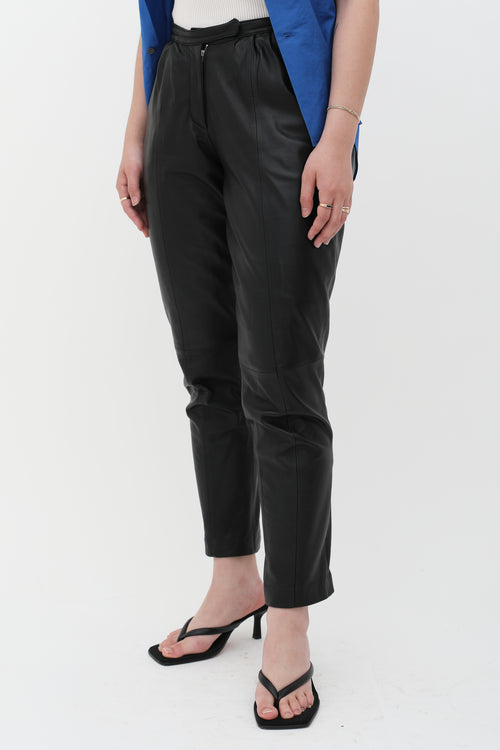 Malene Birger Pre-Owned Slim Leather Pant