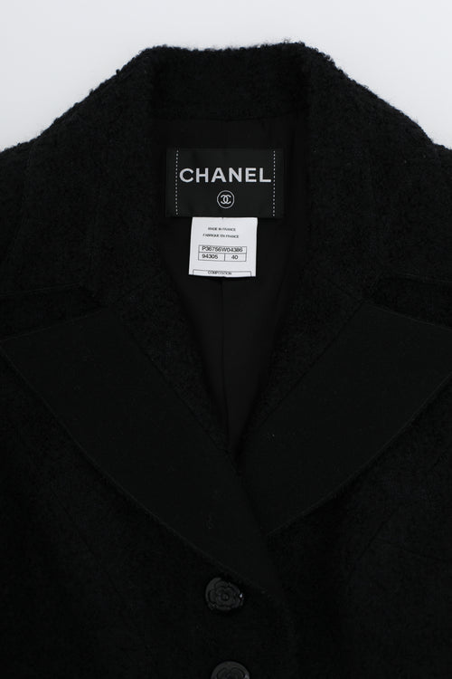 Chanel Fall 2009 Runway Tweed Mohair Blazer