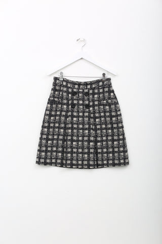 Tibi Plaid Skirt