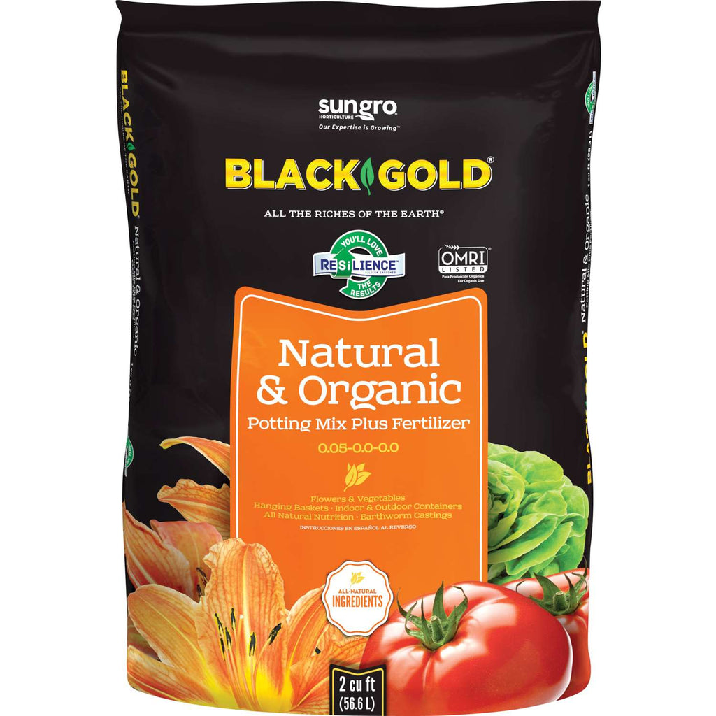 Black Gold Natural & Organic Raised Bed & Potting Mix