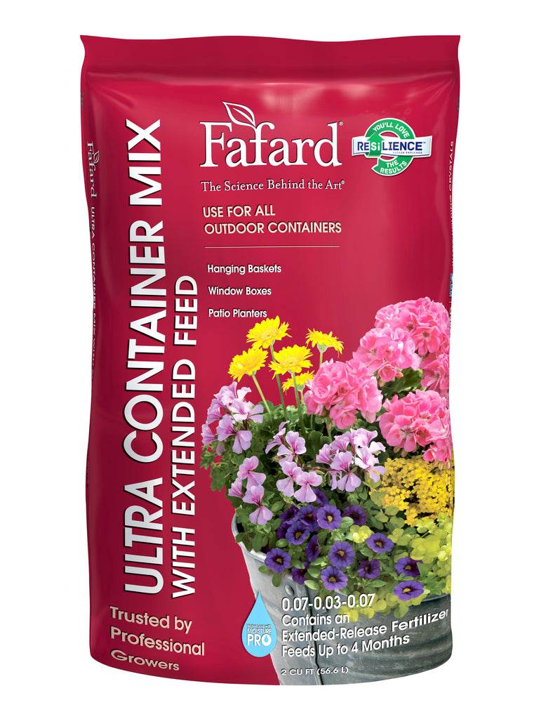 Fafard Ultra Container Mix with Extended Feed