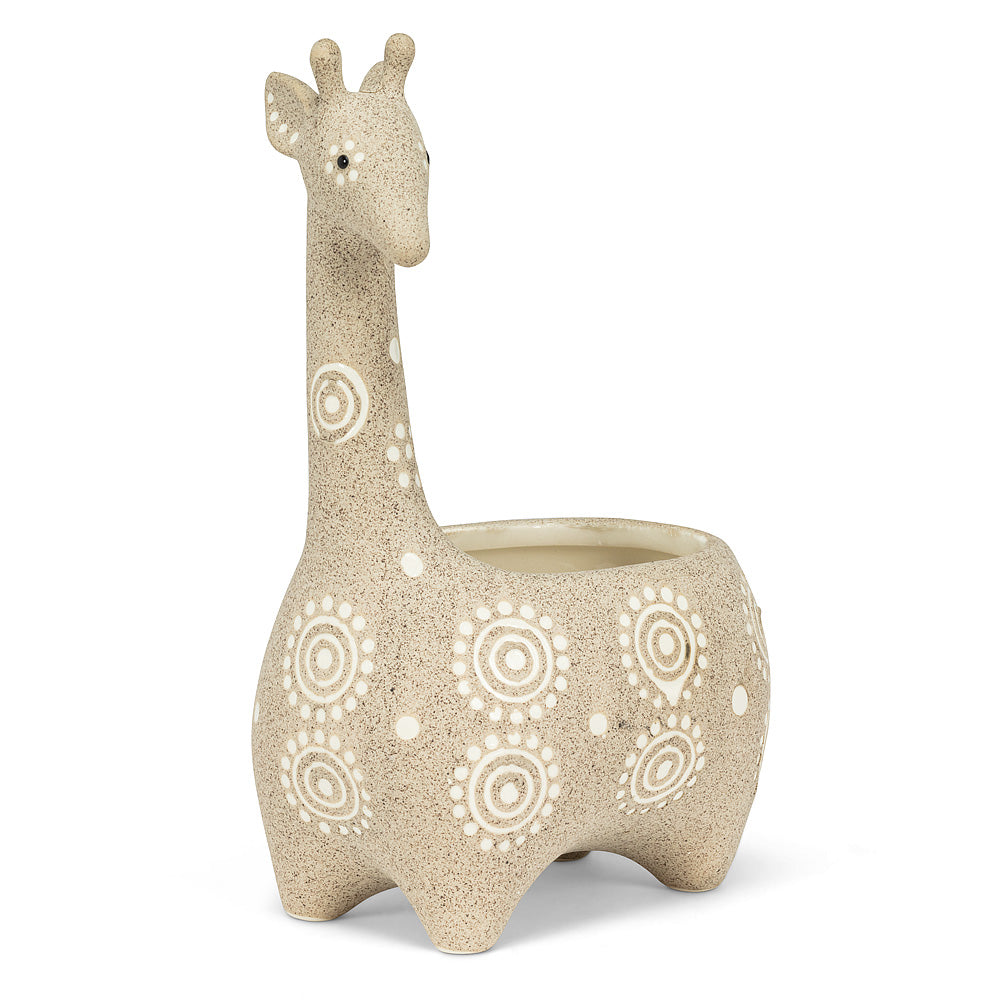 Giraffe Shaped Planter - America's Gardens