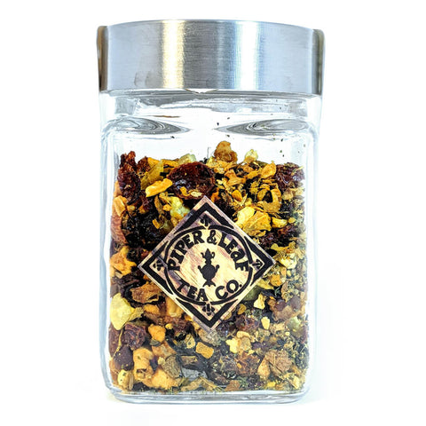 Artisan Tea, Loose Leaf Jars - Golden Hour Tonic - America's Gardens