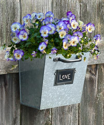 Planter, File Drawer Wall w/Chalkboard - America's Gardens