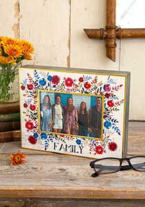 Family Picture Frame - America's Gardens
