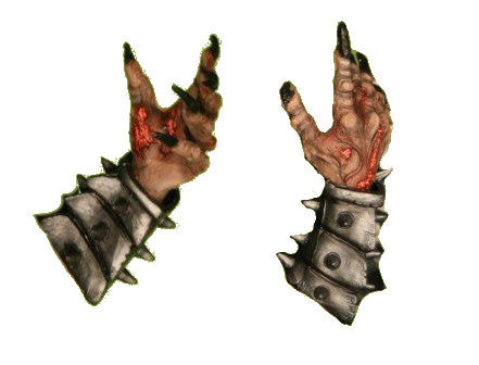 Abaddon Hands and Gauntlets