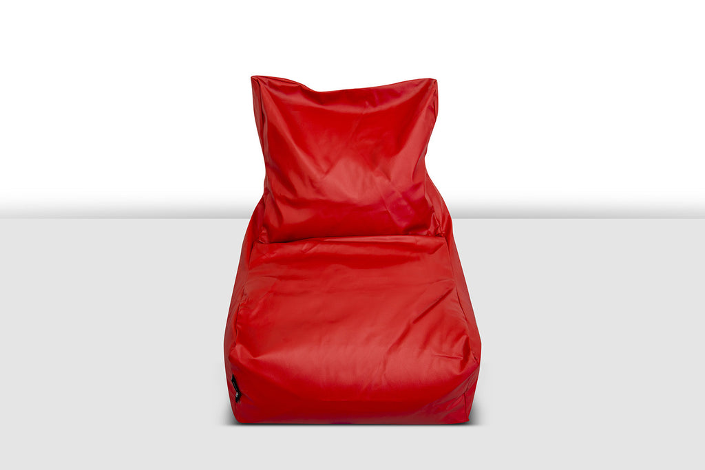 Konfo Living -Berlin Bean Bag Chair - Bulls Eye Red