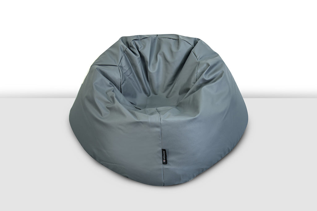 Konfo Living -Barcelona Bean Bag Chair - Anchor Gray