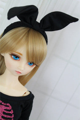 Black Bunny Ears for SD BJD - Guppy Kisses - 1